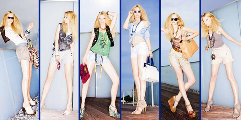 MADONNA Sommertrends Shirts Shorts Fashion