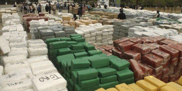 Über 100 Tonnen Marihuana entdeckt
