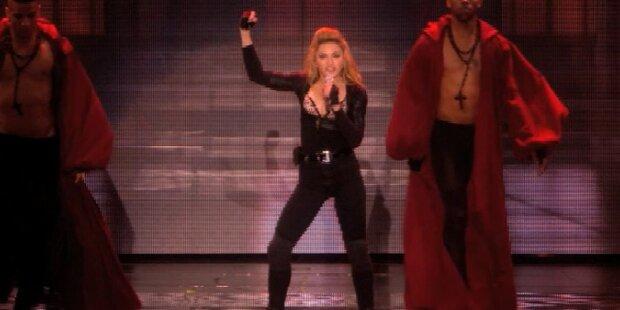 Madonna startet MDNA-Tour in Tel Aviv