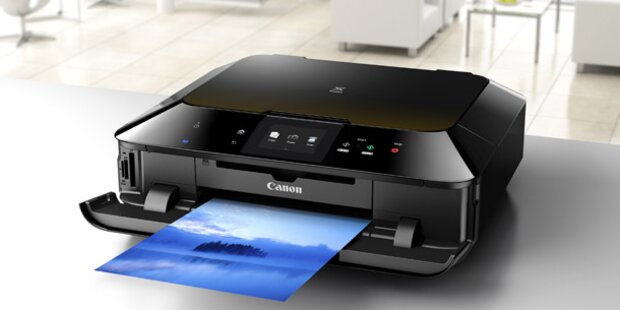 Canon PIXMA MG6350 garantiert ausdrucksstarke Fotodrucke zu Hause