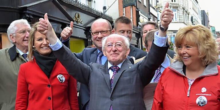 Irland: Dichter Higgins neuer Präsident