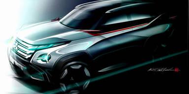 Mitsubishi zeigt künftiges Marken-Design