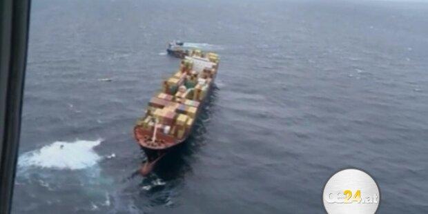 Ölklumpen erreichen Küste Neuseelands