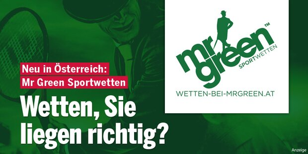 Anzeige Mr. Green