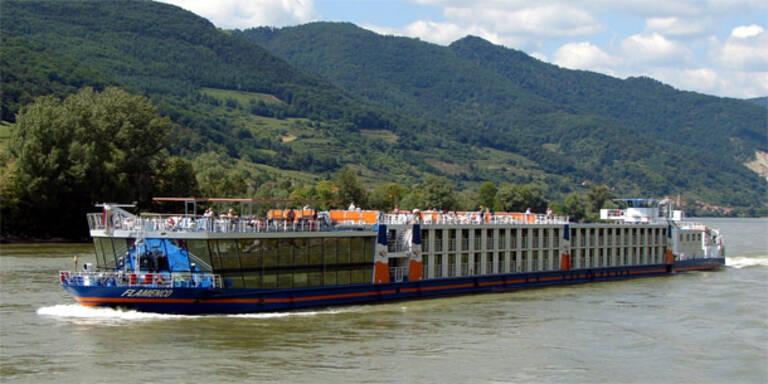 Brand auf Donauschiff verlief glimpflich