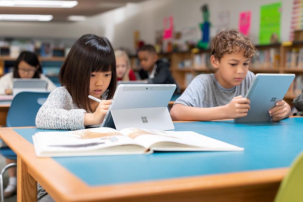 Surface Go Contextual  - MS Schulstart Initiative - Channel - ADV - Bildung 1