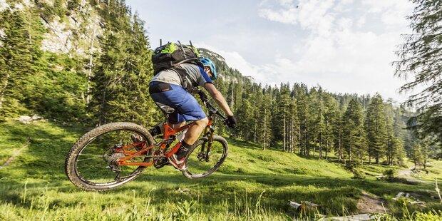 Zwölferhorn Mountainbike Rennen am Wolfgangsee