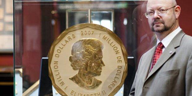 Gigantische Goldmünze wird versteigert