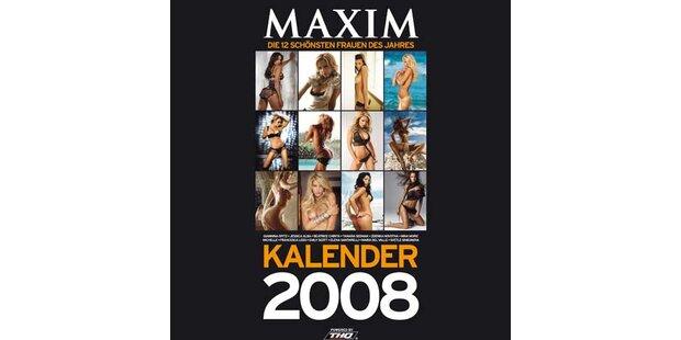 Schöne Aussichten - Der MAXIM-Kalender 2008