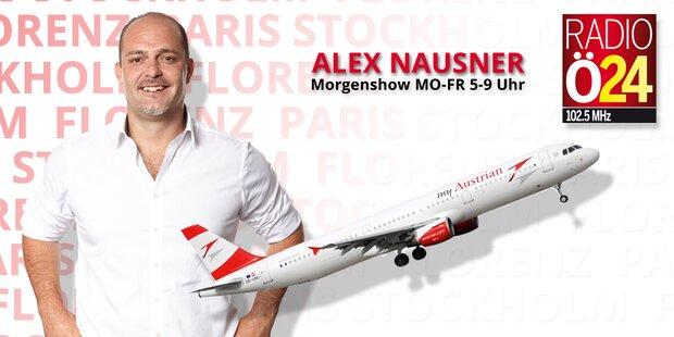 Abheben mit Alex Nausner