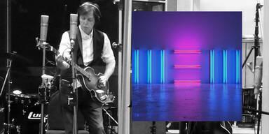 """Paul McCartney hat mit seinem neuen, am Freitag, den 11. Oktober, erscheinenden Album """"New"""" eines untermauert: Dass er mit 71 Jahren, wenn sich Kollegen seines Alters längst auf das Verwalten des eigenen Erbes beschränken, relevante Musik macht. Geholfen haben dem Briten dabei vier mindestens eine Generation jüngere Ko-Produzenten. Die Songs klingen frisch, aber nicht zwanghaft trendy."""