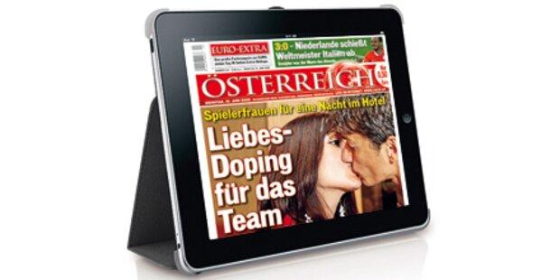 Österreicher fliegen aufs iPad