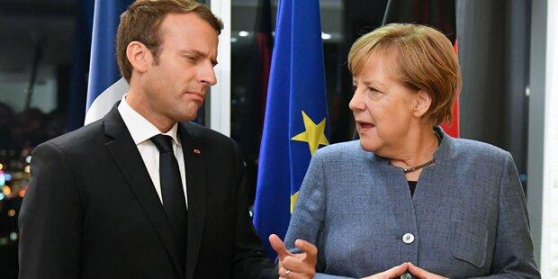 EU-Chefs beraten erstmals über Macron-Pläne