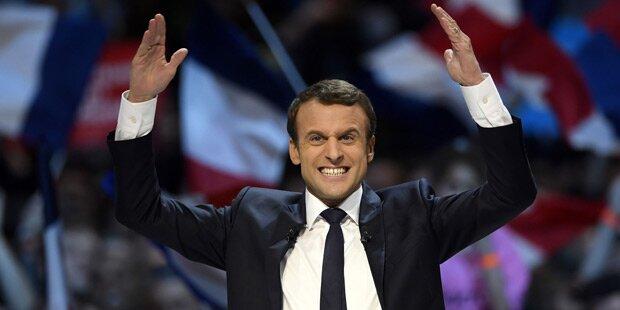 Macron ist Frankreichs neuer Präsident