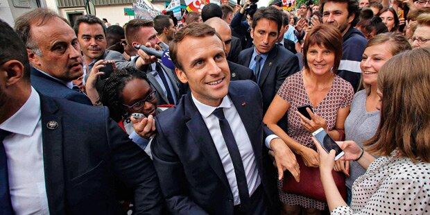 Macron vor nächstem Triumph