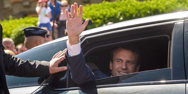 Macron-Lager sieht