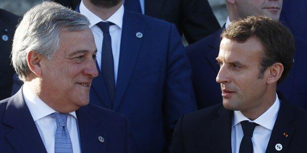 EU-Chefs geben Emmanuel Macron eine Chance
