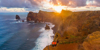 Madeira Strandansicht