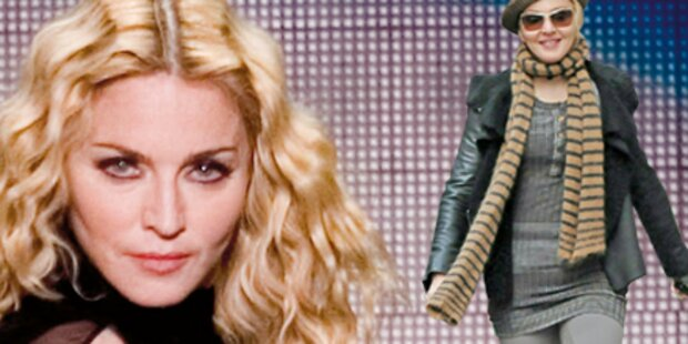 Für ihren Tänzer nimmt Madonna zu
