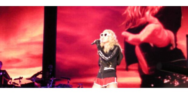 Madonna: Kleine Stimm-Patzer mit Charme