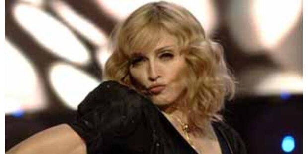 Zum 50er ging Guy vor Madonna in die Knie