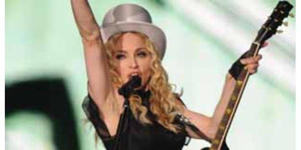 Madonnas sechs Stunden in Wien