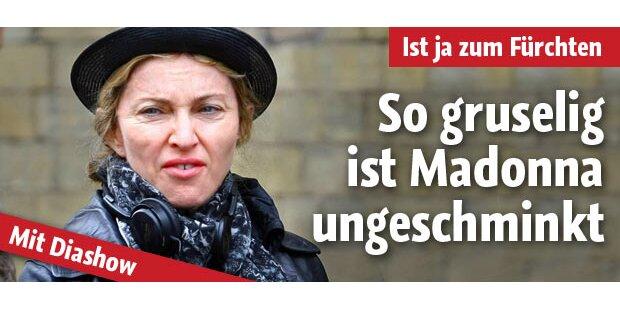 So gruselig ist Madonna ungeschminkt