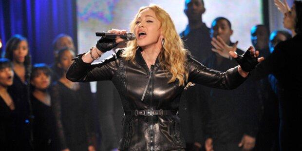 Madonna will zurück auf die Bühne
