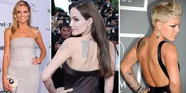 Die Tattoos der Stars
