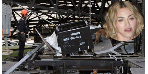 Madonna weint um tote Bühnenarbeiter