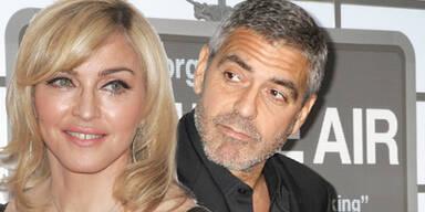 Madonna, George Clooney