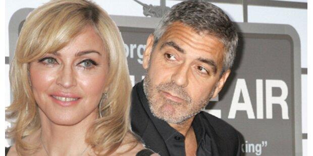 Clooneys Alptraumdate mit Madonna