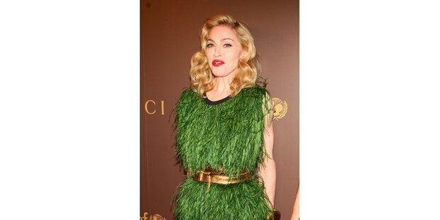 Madonna trug die Wiese zum Unicef-Dinner