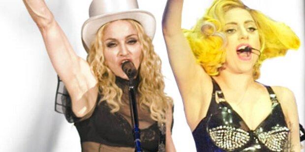 Madonna lästert über Lady Gaga