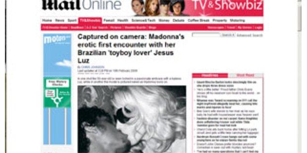 Madonna: Im Bett mit nacktem Jesus