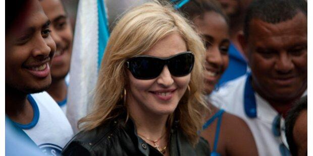 Madonna sammelte in Brasilien Millionen