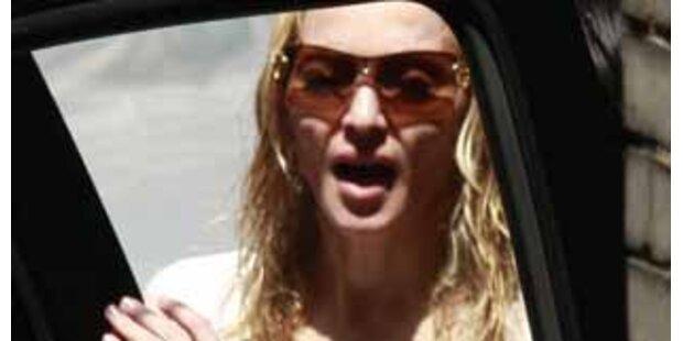 Zusammenbruch! Madonna wird alles zuviel