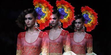 Francis Montesinos  auf der Madrid Fashionweek