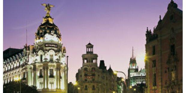 Wilde Nächte in Madrid
