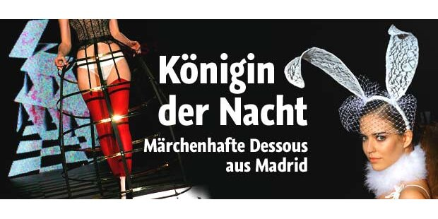 Märchenhafte Dessous aus Madrid