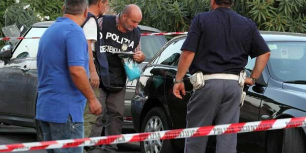 "Hier stirbt Mafia-Boss ""Holzhand"""