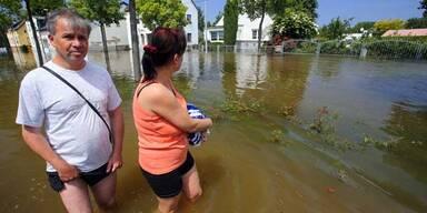 Hochwasser-Alarm: Magdeburg geräumt