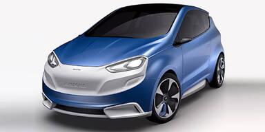 Magna zeigt extra leichtes Konzeptauto