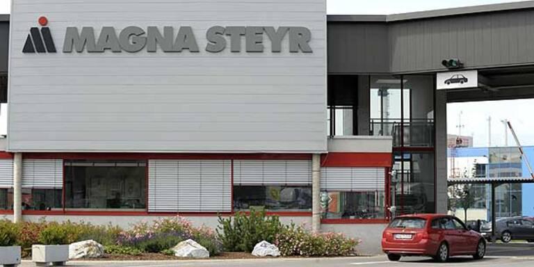 BMW verlängert Vertrag mit Magna in Graz