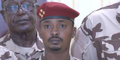 Tschad: Sohn von getötetem Staatschef neuer Präsident