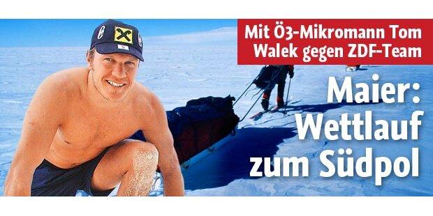 Maier geht für den ORF zum Südpol
