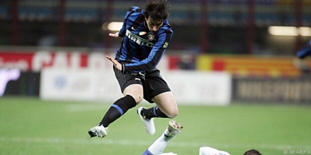 Inter holte mit neun Mann 0:0 gegen Sampdoria