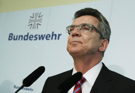 De Maiziere Bundeswehr Verteidigungsminister Deutschland