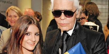 Maleen Fischer von Karl Lagerfeld zu Chanel Show eingeladen