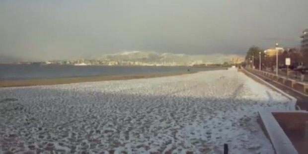 Mallorca: Kältester Tag seit 40 Jahren